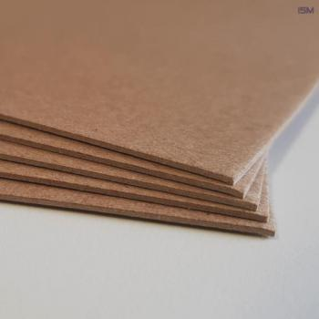 Binder's hardboard; brown; 1,0mm; 500x700mm; SG(PU 50pcs.)