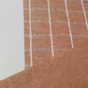 Natron Kraft paper extruded with leno cloth and PE