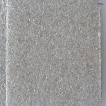 Gray board; 300g / m²; 1120x920mm; 1.0 mm PE foam on both sides (50 pieces)