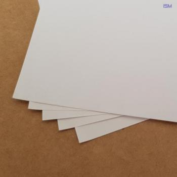 Art paper; White; 0,18x800x500mm; PU 50pcs.