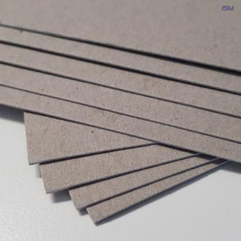 Gray board; Liners Quality; 600g/m²; 760x250mm(packing unit 1000pcs.)